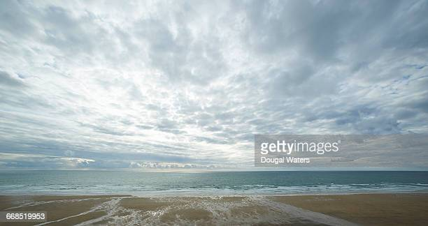view out to sea from atlantic beach. - overcast stock pictures, royalty-free photos & images