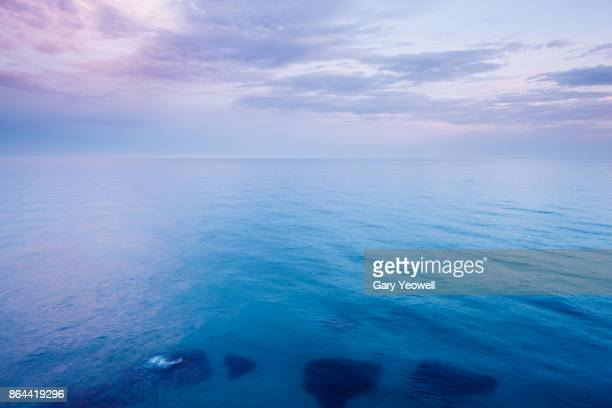 view out to sea - yeowell stock pictures, royalty-free photos & images