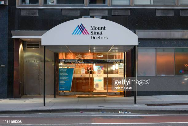 View outside Mount Sinai in Murray Hill as the coronavirus continues to spread across the United States on March 22, 2020 in New York City. The World...