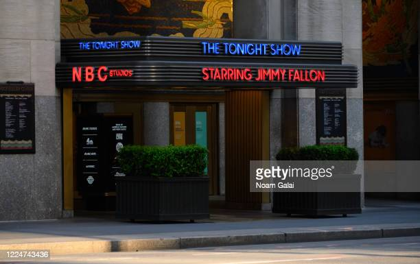 A view outside NBC Studios during the coronavirus pandemic on May 13 2020 in New York City COVID19 has spread to most countries around the world...