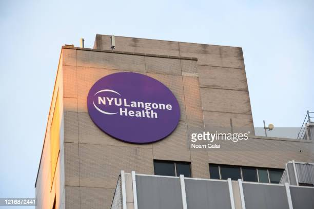 A view outside NYU Langone Health hospital during the coronavirus pandemic on April 4 2020 in New York City The coronavirus pandemic has spread to at...