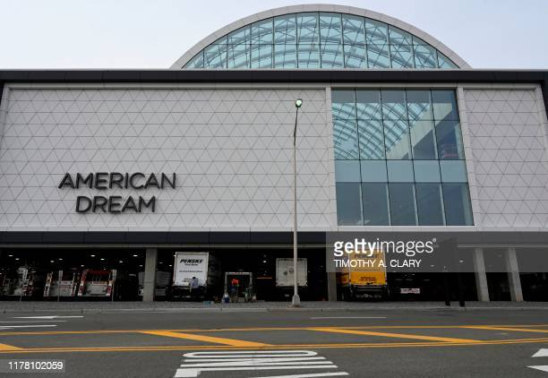 A view outside of part of the American Dream mega mall and entertainment complex in East Rutherford NJthat after more than 17 years in the making the...