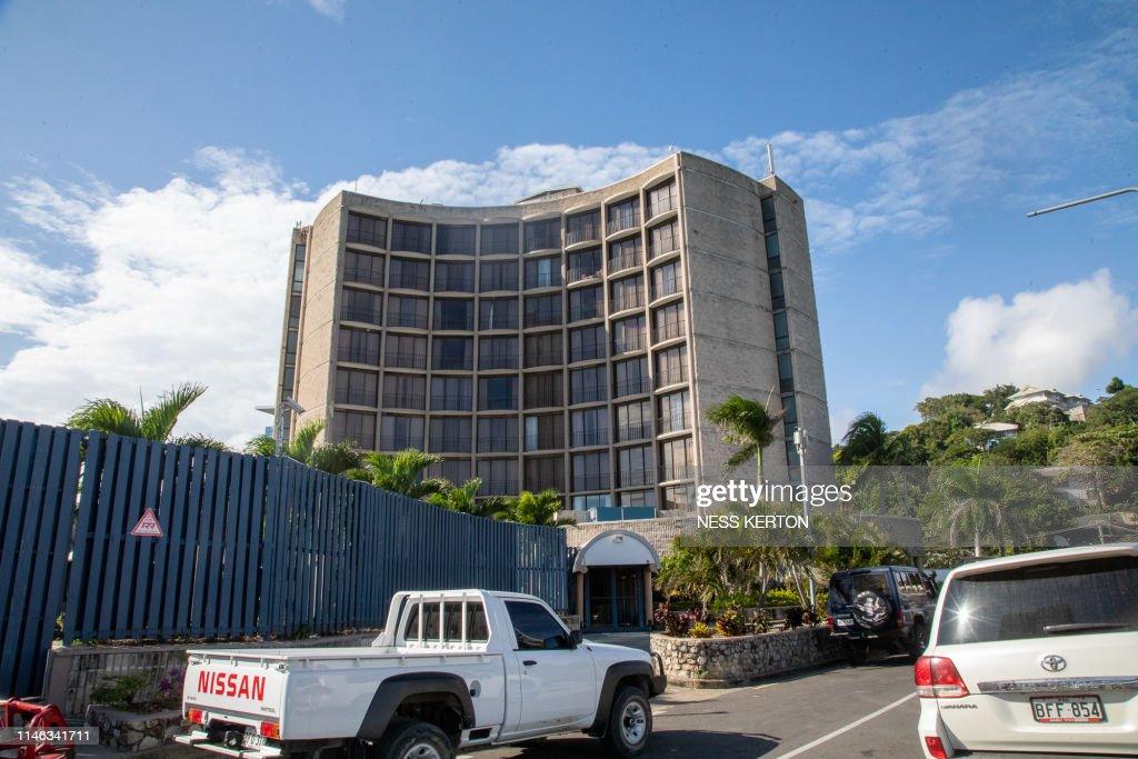 PNG-POLITICS-ONEIL : News Photo