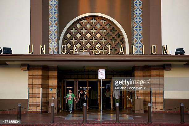 A view outside of Union Station at the Who Framed Roger Rabbit special screening during the 2015 Los Angeles Film Festival at Union Station on June...
