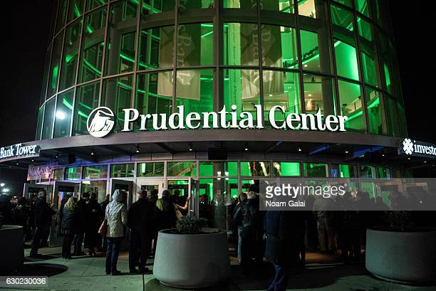 A view outside Prudential Center on December 18 2016 in Newark New Jersey