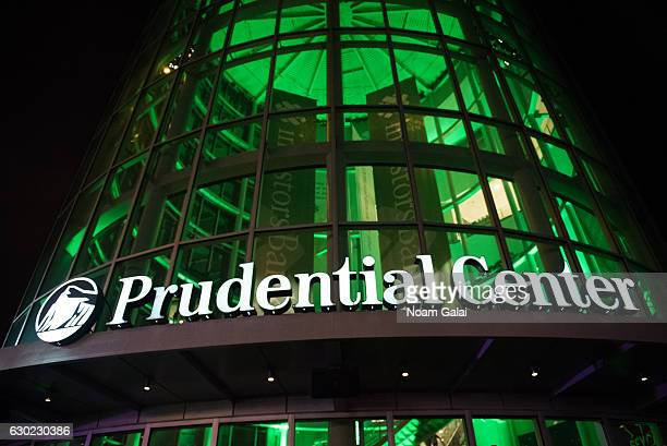 View outside Prudential Center on December 18, 2016 in Newark, New Jersey.