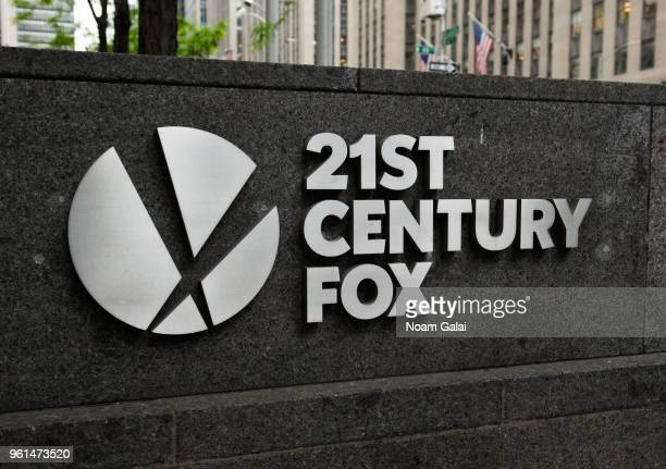 A view outside the Fox News studios on May 22 2018 in New York City