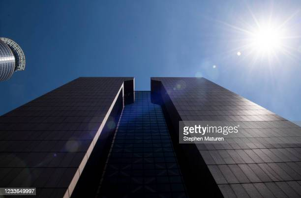 View outside the Hennepin County Government Center on June 25, 2021 in Minneapolis, Minnesota. Former Minneapolis Police officer Derek Chauvin is set...