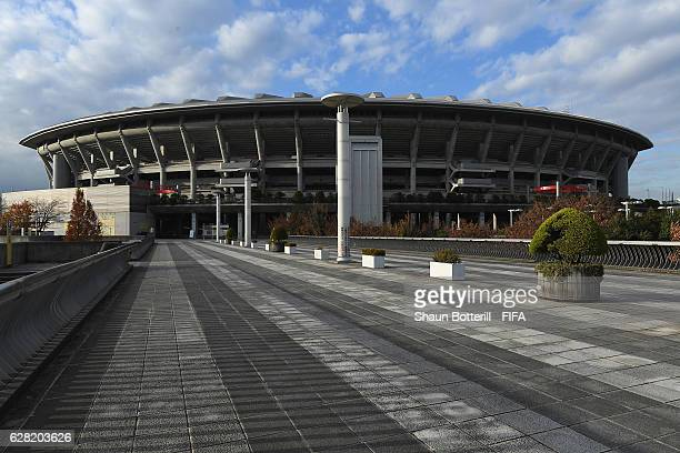 A view outside the International Stadium Yokohama on December 7 2016 in Yokohama Japan