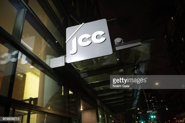 A view outside the Marlene Meyerson JCC Manhattan during the 10th annual ReelAbilities Film Festival opening night at JCC Manhattan on March 8 2018...