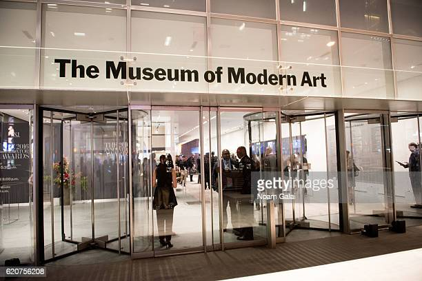 A view outside the Museum of Modern Art on November 2 2016 in New York City