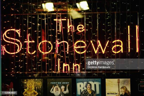 A view outside the Stonewall Inn as Entertainment Weekly Celebrates Its Annual LGBTQ Issue at the Stonewall Inn on June 05 2019 in New York City