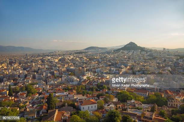 View Over Athens from the Acropolis, Greece