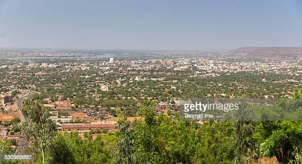 View over Bamako on May 02 2016 in Bamako Mali