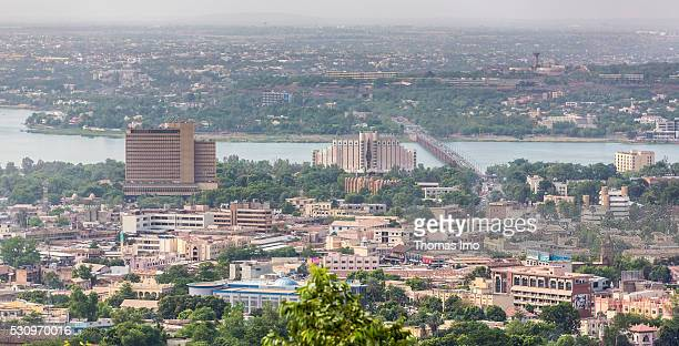 View over Bamako on May 02 2016 in Bamako Mali