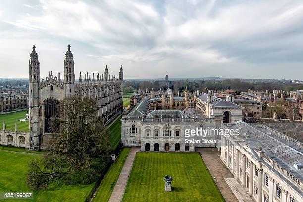 View over Cambridge, England
