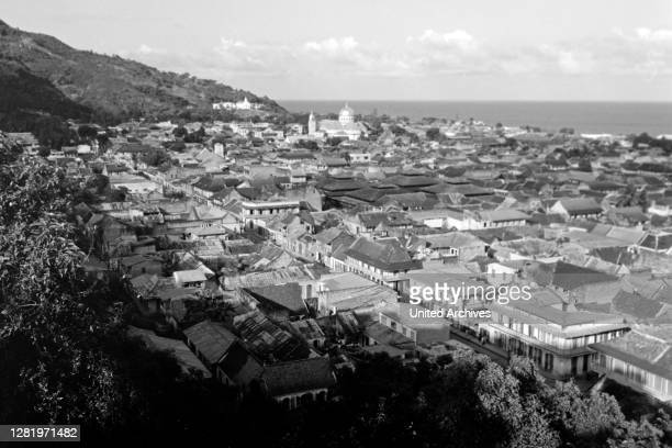 View over Cap-Haitien, 1967.