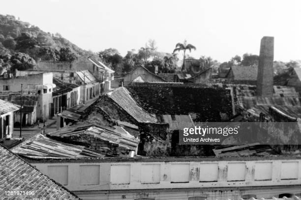 View over Cap-Haitien, 1967.