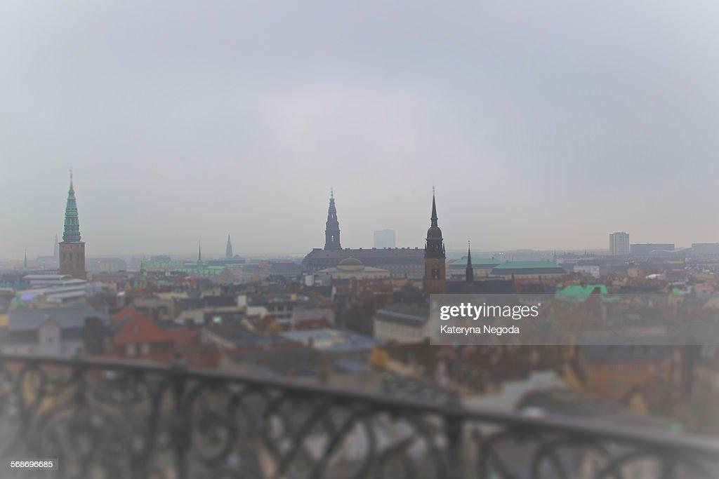 A view over Copenhagen, Denmark : Stock Photo