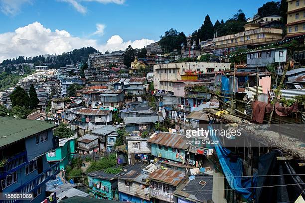 A view over Darjeeling town The town lies at 2500 meters in the Himalayas in the state of West Bengal Trekking season is between April and May and...