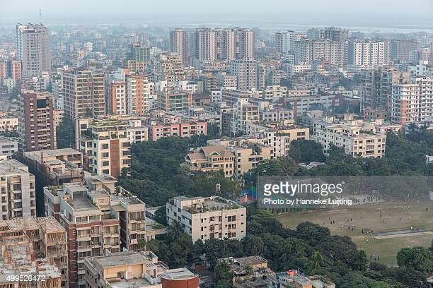 View over Dhaka, Bangladesh