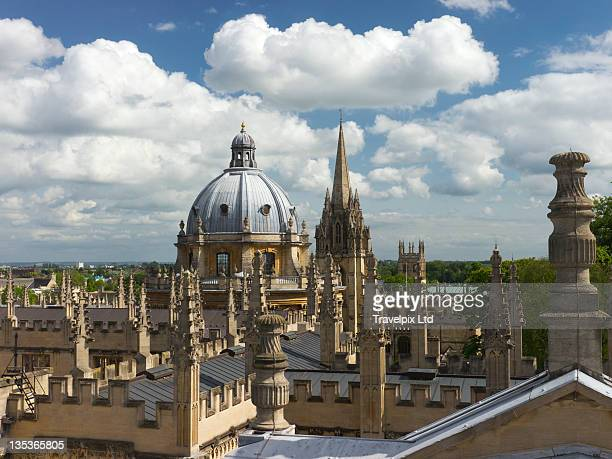 View over Dome and Spires, Oxford
