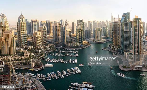 View over Dubai Marina, United Arab Emirates