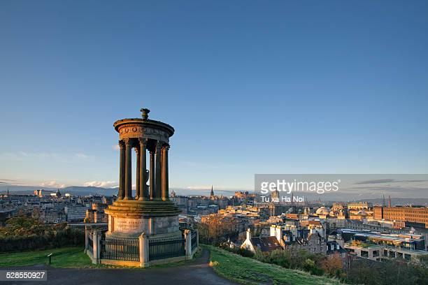 View over Edinburgh from Calton Hill