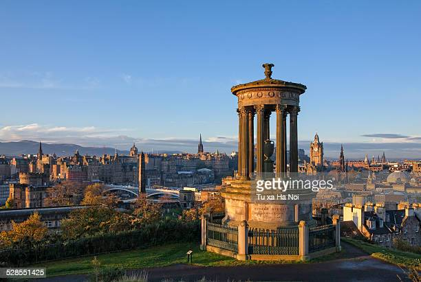 View over Edinburgh from Calton Hill