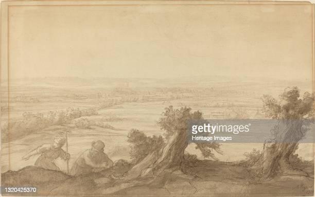 View over Flat Country, 1906. Artist Alphonse Legros.