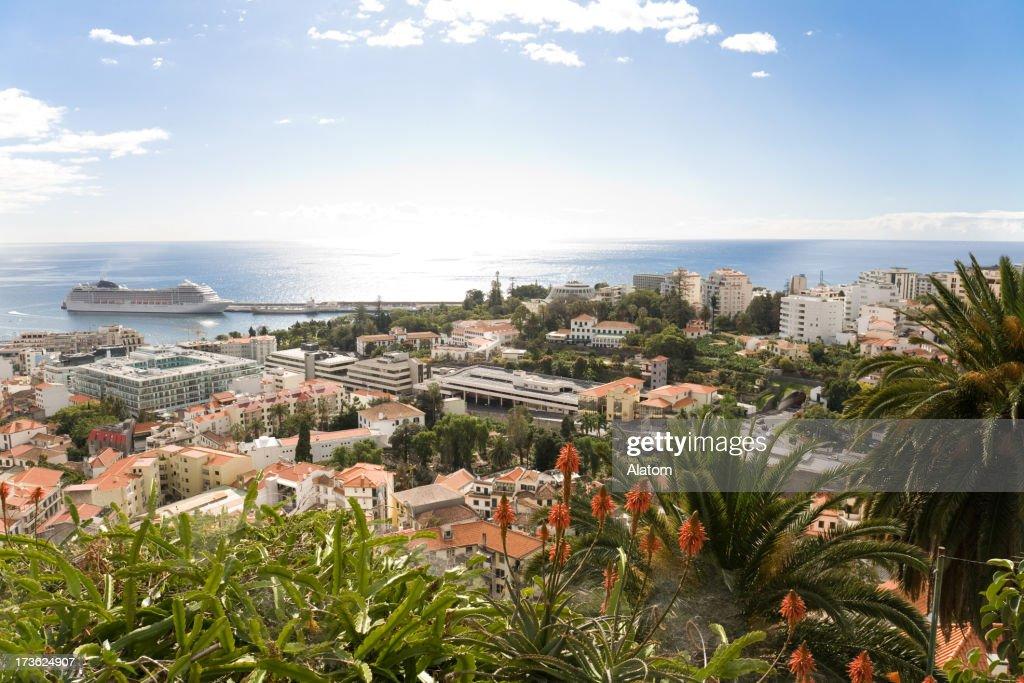 Ver no Funchal, de Madeira : Foto de stock