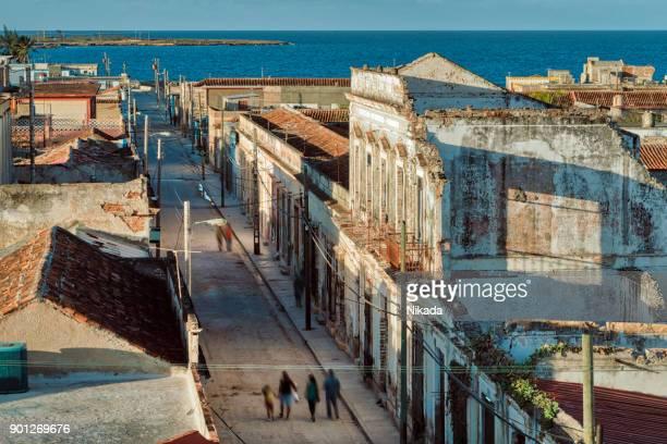 Blick über Gibara Stadt in der Provinz Holguin auf Kuba