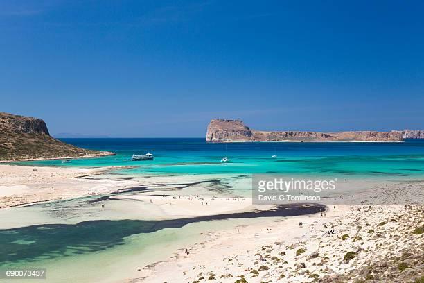 View over Gramvousa Bay, near Kissamos, Crete