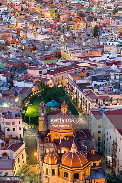 view over guanajuato, mexico - peter adams stock pictures, royalty-free photos & images