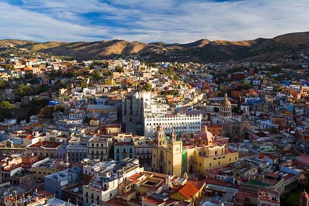 View over Guanajuato, Mexico