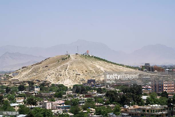 View over Kabul
