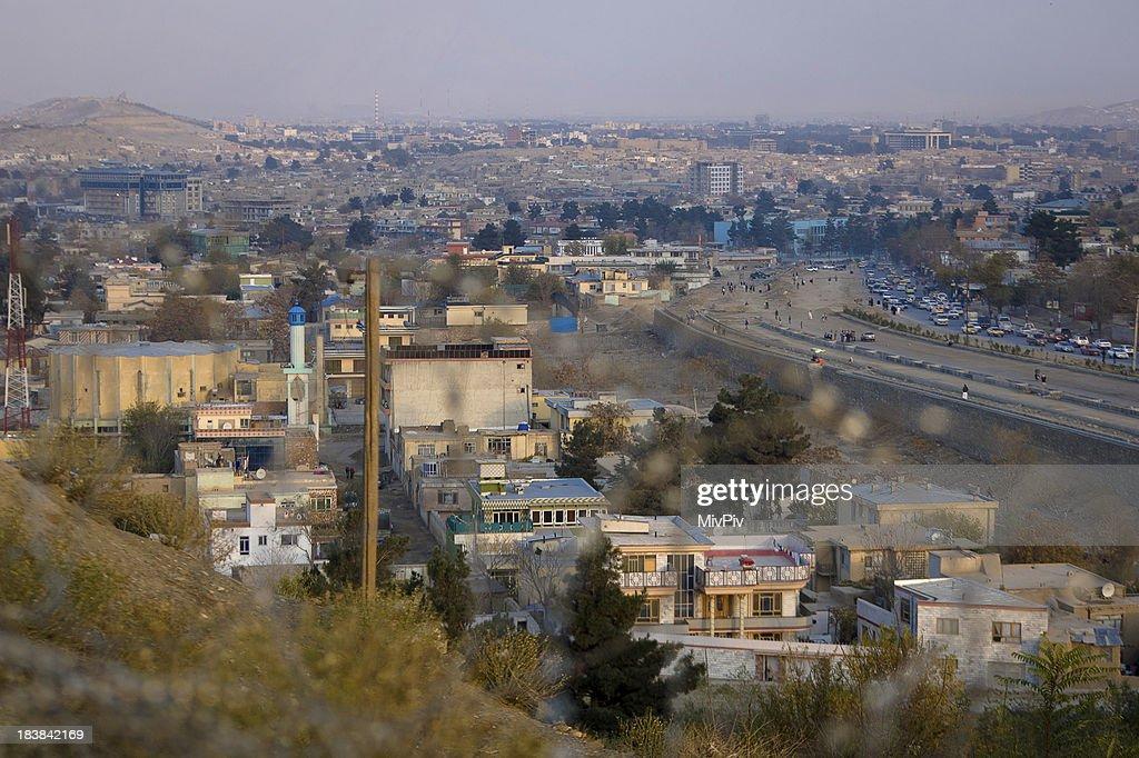 View over Kabul : Stockfoto