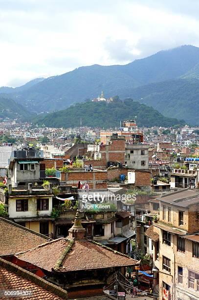 View over Kathmandu valley