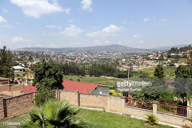 View over Kigali pictured on June 03 2013 in Kigali Rwanda