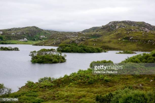 View over Loch Drumbeg, Sutherland, Scotland