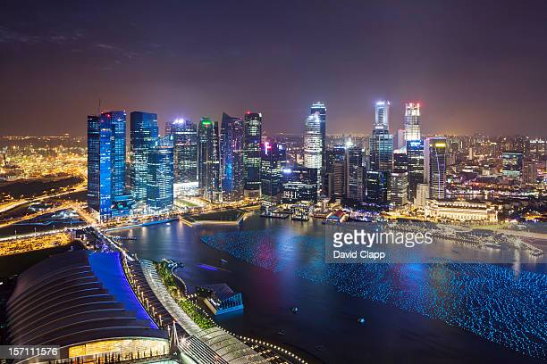 View over Marina Bay, Singapore