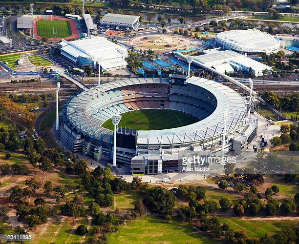 View over Melbourne Cricket Ground
