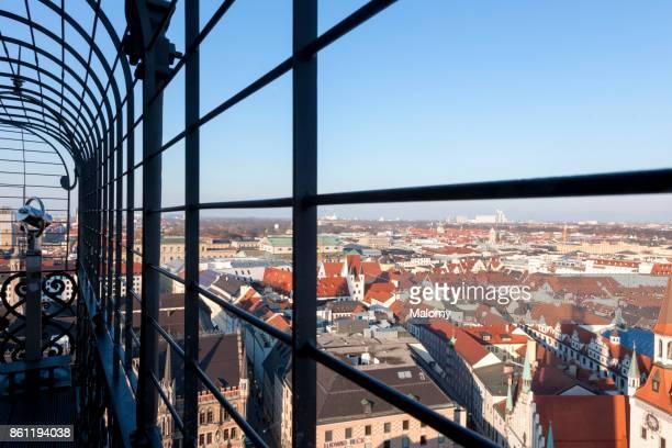 View over Munich city - Munich, Bavaria, Germany