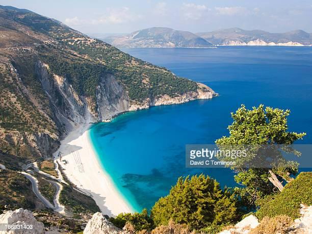 View over Myrtos beach, Assos, Kefalonia, Greece