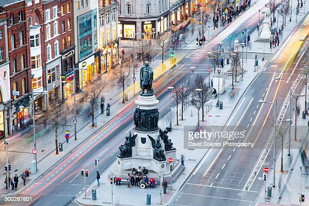 View over O'Connell Street