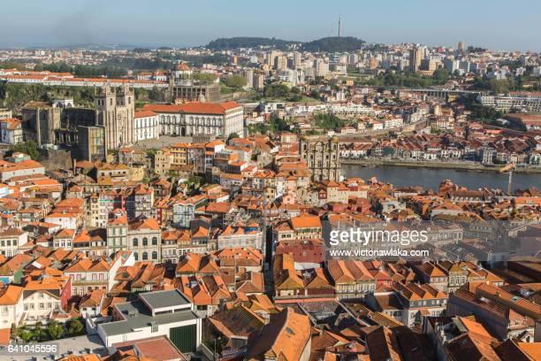 View over Oporto from Torre de Clérigos