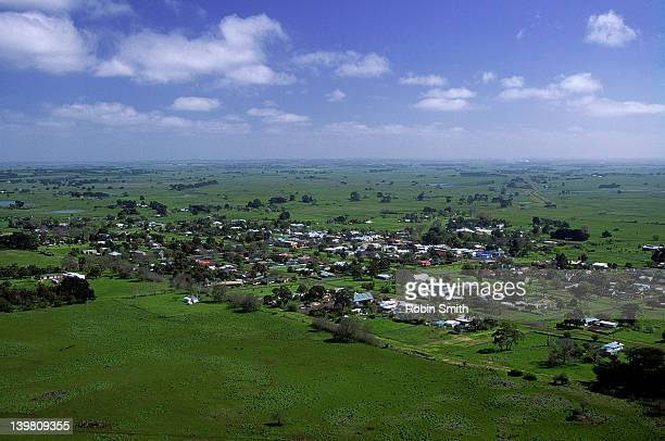 View over Penshurst, Western District, Victoria