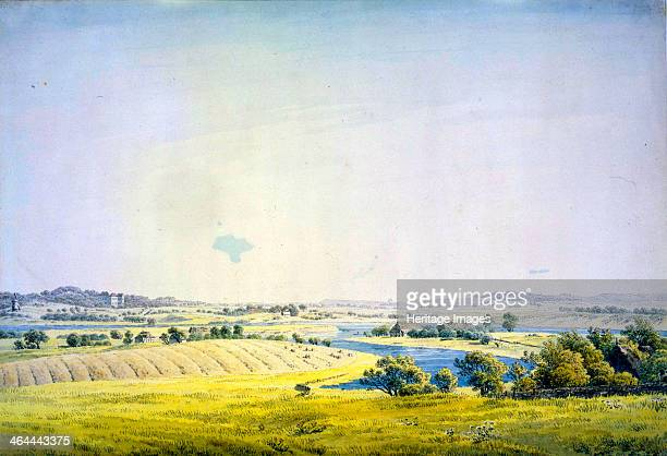 'View over Putbus' 18241825 Found in the collection of the State A Pushkin Museum of Fine Arts Moscow