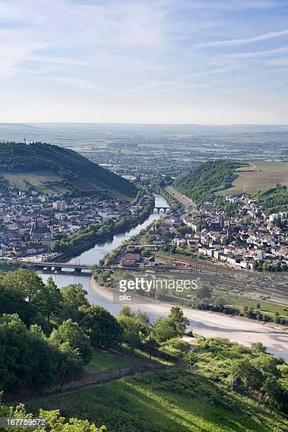 Blick auf den Rhein, die Stadt Bingen