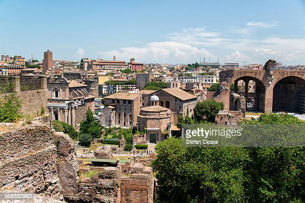 View over Roman Forum